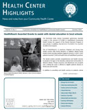Health Center Highlights - Summer 2018