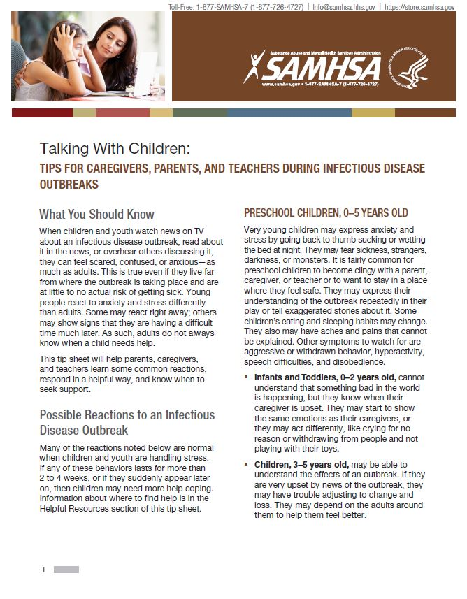 Tips for Talking with Children