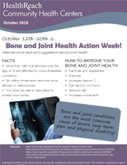 Bone and Joint Health Month